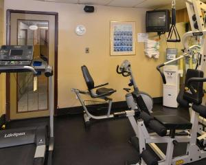 The fitness centre and/or fitness facilities at Econo Lodge Motel Village