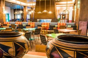 A restaurant or other place to eat at Disney's Hotel Santa Fe®