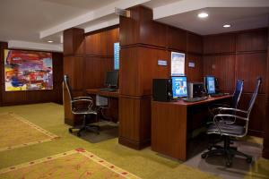 The business area and/or conference room at The Skyline Hotel New York