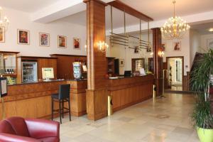 Lobby/Rezeption in der Unterkunft Hotel Niedersächsischer Hof