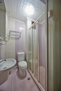 Salle de bains dans l'établissement Hotel Akcinar