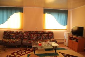 A seating area at Biy Ordo Guest House