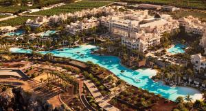 A bird's-eye view of Gran Melia Palacio de Isora Resort & Spa