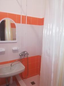 Ванная комната в Гостиница Новый Континент