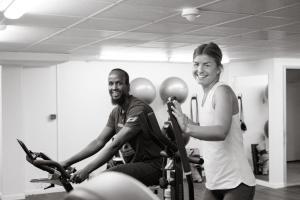 Fitnesscenter och/eller fitnessfaciliteter på Hotel Terraza