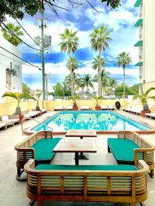 The swimming pool at or near Broadmore Miami Beach