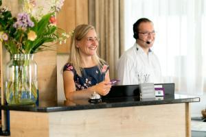 Staff members at Sapia Hotel Rheinsberg
