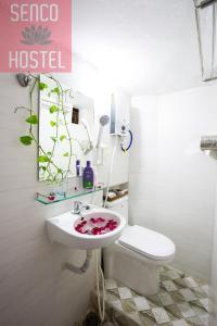 A bathroom at Senco Female Hostel