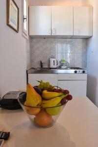Η κουζίνα ή μικρή κουζίνα στο Villa Francesca