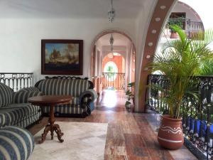 The lobby or reception area at Canadian Resort Huatulco