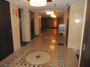 The lobby or reception area at APA Hotel Kurashiki Ekimae