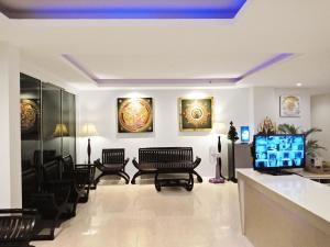 The lobby or reception area at The Pano Hotel & Residence