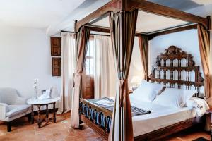 Cama o camas de una habitación en Parador de Mérida