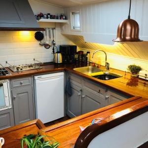 Een keuken of kitchenette bij Klipper Nova Cura