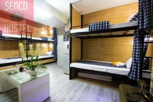 A bunk bed or bunk beds in a room at Senco Female Hostel