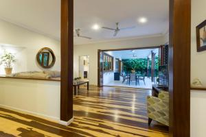 The lobby or reception area at Footsteps to Four Mile - Port Douglas