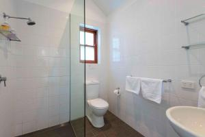A bathroom at Two Doors