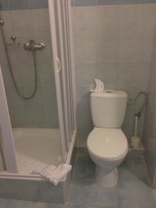 A bathroom at Hotel Prim