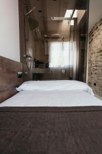Cama o camas de una habitación en Via Aetcal Hotel & Wellness