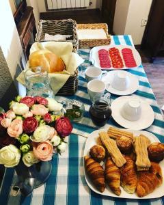 Opciones de desayuno disponibles en El Retiro del Pilar