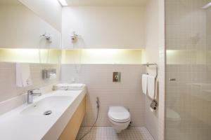A bathroom at Spa Tervise Paradiis