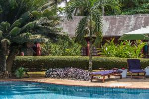 The swimming pool at or near Bom Bom Principe