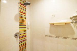 A bathroom at Chinatown Hotel