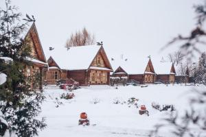 Pushkarskaya Sloboda during the winter