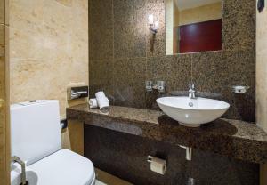 Ванная комната в Meresuu Spa & Hotel