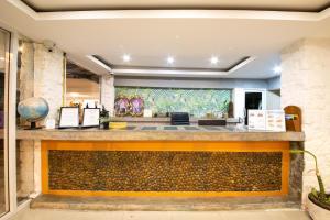 Лобби или стойка регистрации в Kata Bella Resort
