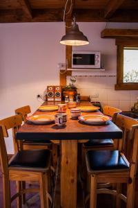 Un restaurant u otro lugar para comer en Inlandsis aparts