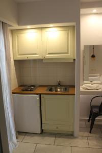 A kitchen or kitchenette at Vasilikos Studios