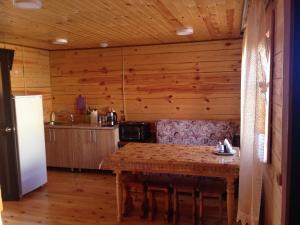 A kitchen or kitchenette at House Nakhodka