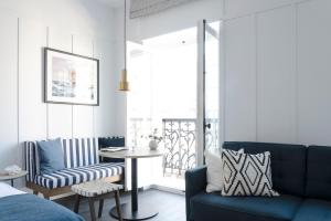 "Coin salon dans l'établissement Getaway Studios ""The Providence"" Oostende"