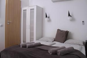 Ein Bett oder Betten in einem Zimmer der Unterkunft Sió Lodge