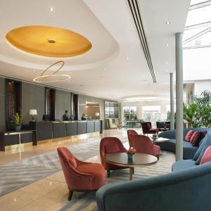 The lobby or reception area at Dunboyne Castle Hotel & Spa