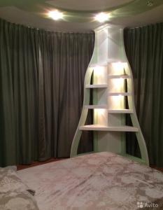 Кровать или кровати в номере Apartment on Lenina 14A