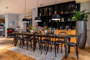 Restaurant ou autre lieu de restauration dans l'établissement Hotel Die Port van Cleve
