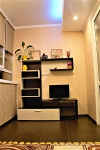 A television and/or entertainment centre at Apartment Comfortnaya Zhizn at Severnaya 5