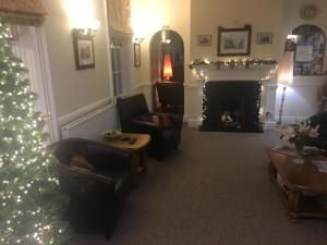A seating area at Abbots Mead Hotel