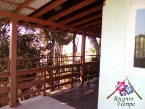 Un balcón o terraza de Recanto Floripa