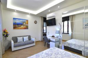 Area soggiorno di Caserta Deluxe
