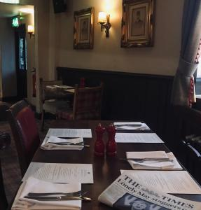 A restaurant or other place to eat at The Crown Pub, Dining & Rooms