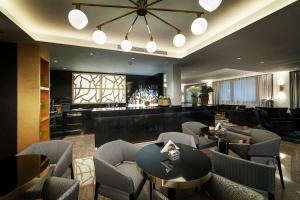 The lounge or bar area at Hotel Doriguzzi