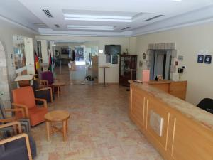 The lobby or reception area at Talitha Kumi Guest House
