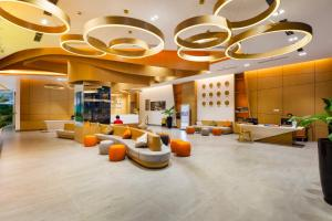 The lobby or reception area at Ariyana SmartCondotel Nha Trang