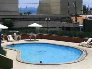 The swimming pool at or close to Porto De Iracema Temporada