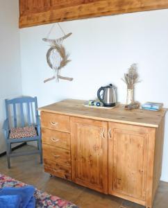 A kitchen or kitchenette at Faralya Botanica