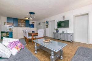 Posezení v ubytování Apartments Babaja