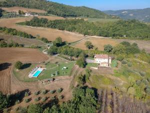 Vista aerea di Agriturismo Montelovesco